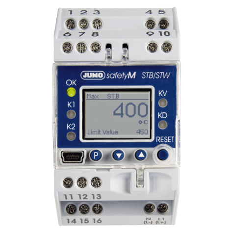 Jumo Safety Temperature Limiter / Monitor STB/STW