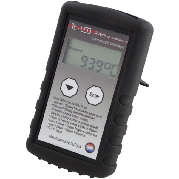 Intech Thermocouple Temperature Data Logger With LCD Display Tc-LCD