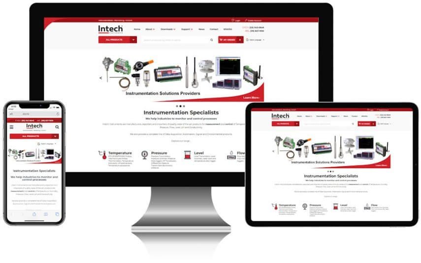 Intech New website post
