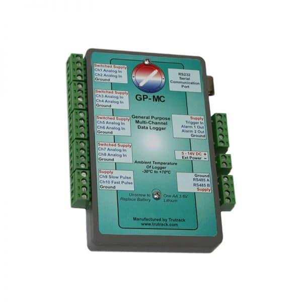 10 input multi purpose data logger GP-MC