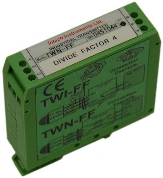 Intech TWI-FF/TWN-FF Frequency to Frequency Transmitters